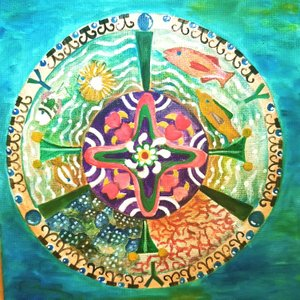 絵画 モダン アートパネル アート インテリア 雑貨 おしゃれ ロココロ イラスト 絵 現代アート 画家 : なったこ  作品 : n-3|obeolysco