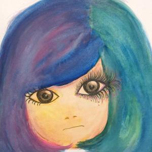 絵画 モダン アートパネル アート インテリア 雑貨 おしゃれ ロココロ 抽象画 画家 現代アート : ごま 作品 : ゆめこ|obeolysco