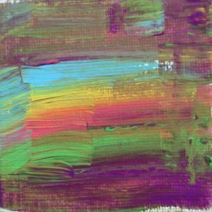 絵画 モダン アートパネル アート インテリア 雑貨 おしゃれ ロココロ 抽象画 画家 現代アート : ごま 作品 : 夕焼け|obeolysco