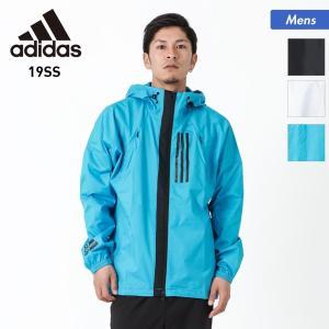adidas/アディダス メンズ ウインドブレーカー ジャケット ジップ 長袖 フード付き アウター FXY09 oc-sports