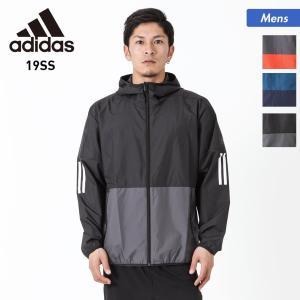adidas/アディダス メンズ ウインドブレーカー ジャケット ジップ 長袖 フード付き アウター FTL32 oc-sports