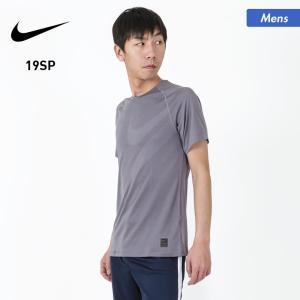 NIKE/ナイキ メンズ 半袖 Tシャツ ティーシャツ ロゴ シンプル クルーネック ランニング スポーツ ウェア AJ8851|oc-sports