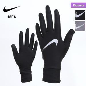 NIKE/ナイキ レディース ランニング グローブ ランニング用グローブ てぶくろ 手袋 スマホ対応 タッチパネル対応 ジョギング マラソン 防寒 RN2033 oc-sports