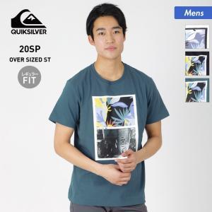 QUIKSILVER/クイックシルバー メンズ 半袖 Tシャツ ティーシャツ クルーネック プリント トップス QST201034 oc-sports