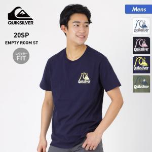 QUIKSILVER/クイックシルバー メンズ 半袖 Tシャツ ティーシャツ クルーネック バックプリント トップス QST201037 oc-sports
