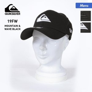 QUIKSILVER/クイックシルバー メンズ キャップ 帽子 ニューエラ NEWERA 刺繍 ロゴ ぼうし 39THIRTY AQYHA03487|oc-sports