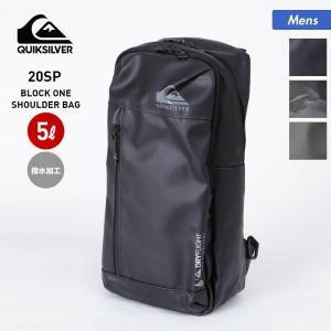 QUIKSILVER/クイックシルバー メンズ ワンショルダーバッグ 5L ボディバッグ バッグ かばん 鞄 撥水加工 QBG201312 oc-sports