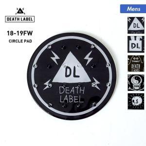 DEATH LABEL/デスレーベル メンズ デッキパッド スノーボード板の滑り止め ストンプパッド デッキパット CIRCLE_PAD|oc-sports