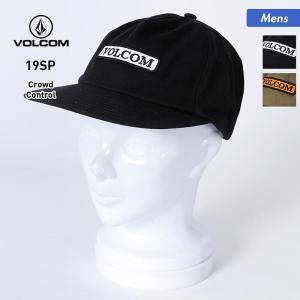 VOLCOM/ボルコム メンズ キャップ 帽子 ぼうし フラットバイザー 平つば サイズ調節可能 アウトドア D5511914|oc-sports