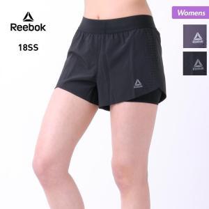 Reebok/リーボック レディース スポーツ ショートパンツ 短パン トレーニング ジム ヨガ 運動 ECK38|oc-sports