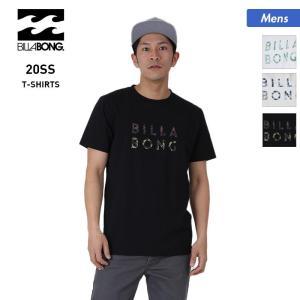 BILLABONG/ビラボン メンズ 半袖 Tシャツ ティーシャツ トップス 白 ホワイト 黒 ブラック クルーネック ロゴ BA011-201|oc-sports