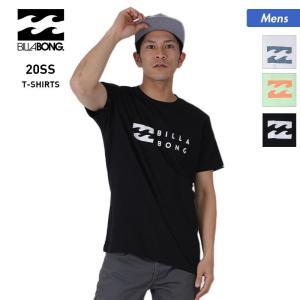 BILLABONG/ビラボン メンズ 半袖 Tシャツ ティーシャツ トップス 白 ホワイト 黒 ブラック クルーネック ロゴ BA011-229|oc-sports