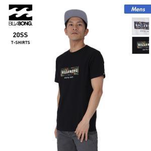 BILLABONG/ビラボン メンズ 半袖 Tシャツ ティーシャツ トップス 白 ホワイト 黒 ブラック クルーネック ロゴ BA011-272|oc-sports