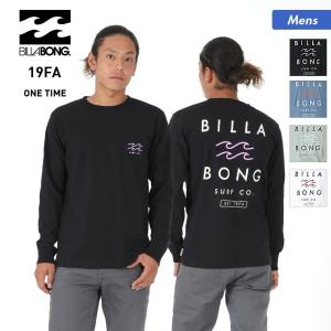BILLABONG/ビラボン メンズ 長袖 Tシャツ ティーシャツ トップス クルーネック ロゴ ロングTシャツ ロンT AJ012-051|oc-sports