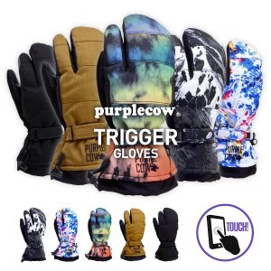 purplecow/パープルカウ メンズ&レディース スノーボード トリガーグローブ スノーグローブ スノー用グローブ 手袋 手ぶくろ てぶくろ スキーグローブ PCG-795|oc-sports