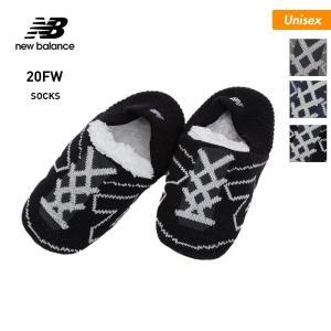 NEW BALANCE/ニューバランス メンズ&レディース ルームソックス ルームシューズ 靴下 スリッパ JASL0756 oc-sports