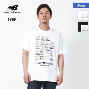 NEW BALANCE/ニューバランス メンズ 半袖 Tシャツ インクレディブルT ティーシャツ クルーネック トップス MT91582|oc-sports