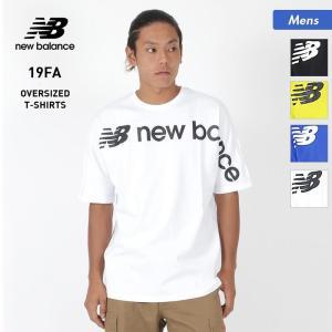 NEW BALANCE/ニューバランス メンズ Tシャツ 半袖 ティーシャツ ロゴ スポーツウェア MT93514|oc-sports