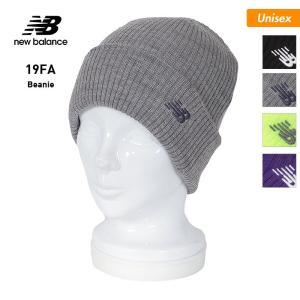 NEW BALANCE/ニューバランス メンズ&レディース ダブル ニット帽 帽子 ぼうし ニットキャップ ビーニー スノーボード スノボ スキー 防寒 折り返し JACL9735|oc-sports