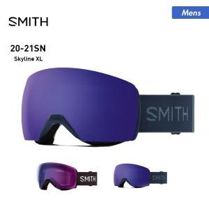 SMITH/スミス メンズ スノーボード ゴーグル スキー ゴーグル リムレスフレーム メガネ対応 眼鏡対応 スノーゴーグル スノボ Skyline XL|oc-sports