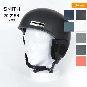 SMITH/スミス メンズ&レディース ウインタースポーツ用 ヘルメット スノーヘルメット グラトリ 頭部保護 スキー スノーボード スノボ Maze|oc-sports