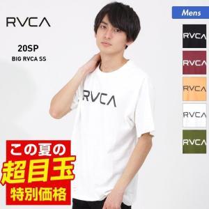 RVCA/ルーカ メンズ 半袖 Tシャツ ティーシャツ クルーネック ロゴ ルカ ランニング BA041-204 oc-sports