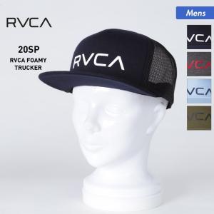 RVCA/ルーカ メンズ キャップ 帽子 メッシュキャップ ぼうし 紫外線対策 アウトドア スナップバック フラットバイザー BA041-912|oc-sports