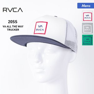 RVCA/ルーカ メンズ キャップ 帽子 ぼうし フラットバイザー ロゴ サイズ調節可 BA041-922|oc-sports