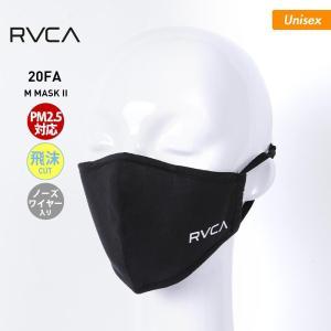 RVCA/ルーカ メンズ&レディース マスク ロゴ 黒 ブラック BA042-979 oc-sports