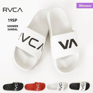 RVCA/ルーカ レディース シャワーサンダル ロゴ さんだる ビーチサンダル ロッカーサンダル AJ043-973 oc-sports