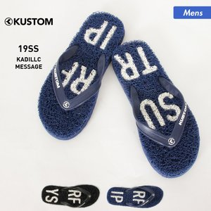 KUSTOM/カスタム メンズ サンダル ビーチサンダル ビーサン ヌードルソール 海水浴 プール ビーチ AJ208-553|oc-sports
