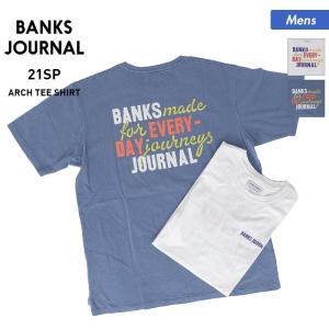 BANKS JOURNAL/バンクスジャーナル メンズ 半袖 Tシャツ ティーシャツ トップス クルーネック ロゴ ATS0583 oc-sports