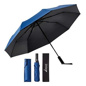 折りたたみ傘 自動開閉 軽量 丈夫 晴雨兼用 UVカット 遮光 遮熱 UPF50+ おりたたみ傘 父の日 台風対応 梅雨対策 超撥水 収納ポーチ付き|oceans-asa