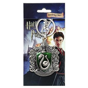 Harry Potter Slytherin Crestメタルキーチェーン|oceans-asa