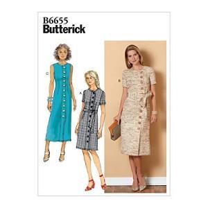【Butterick】ペティドレスとサッシの型紙セット サイズ:US6-8-10-12-14 B6655|oceans-asa