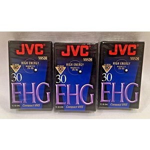 JVC TC30EHGB 30分空白VHS-Cテープ oceans-asa