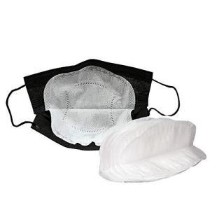 不織布フィルター 使い捨て 3層構造 パッド 夏用 保護取り替えシート 汚れを約99%シャットアウト 40枚 (真っ白) oceans-asa