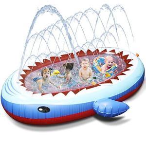 【令和最新版】Chamsaler プール ファミリープール 大型ファミリープール 家庭用スイミング 充気プール ビニール 子供プール 子供用 子供4人 oceans-asa