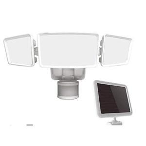 ソーラー人感センサーライト 1800ルーメン 可動式 FSI180-855 FSI180 センサーライト 防犯対策 ライト 屋外ライト 人感センサー oceans-asa