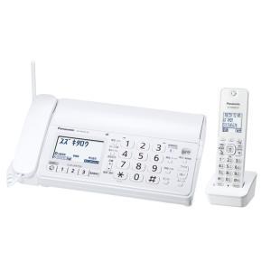 残り僅かKX-PD205DL-W Panasonic おたっくす デジタルコードレス普通紙ファクス(子機1台付き)(ホワイト)KXPD205DLW