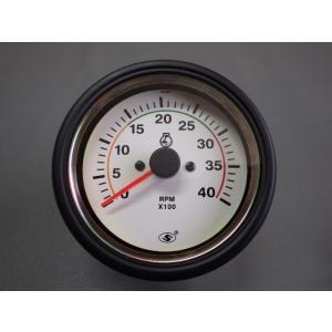 オルタネーターのW端子、又はタコセンサー(磁力センサー)に信号線を 接続するタコメーターです。 全て...
