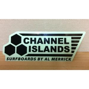 「チャンネルアイランズ」 channelislands アルメリック ステッカー黒 日本正規販売店 メール便可能|oceanzone