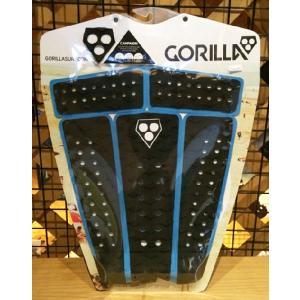 【ゴリラグリップ】GORILLA デッキパット CAMPAIGN BLACK/BLUE 27600|oceanzone