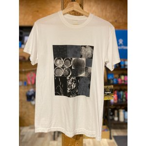 FORMER(フォーマー)MICRO TEE ホワイト メンズTシャツ |oceanzonesurf