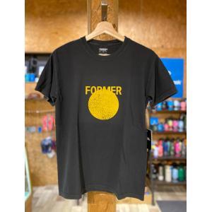 FORMER(フォーマー)SCOPE TEE ブラック メンズTシャツ |oceanzonesurf
