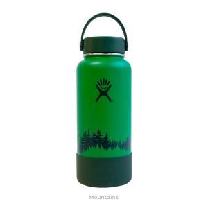 Hydro Flask(ハイドロフラスク)ESCAPEコレクション  32 oz Wide Mouth 08 Mountains|oceanzonesurf