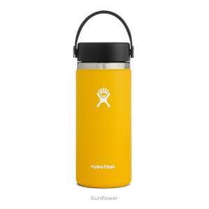 Hydro Flask(ハイドロフラスク)HYDRATION  16 oz Wide Mouth 25 Sunflower(NEW)|oceanzonesurf
