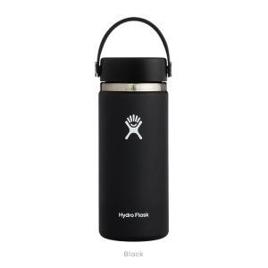 Hydro Flask(ハイドロフラスク)HYDRATION  16 oz Wide Mouth 20 Black|oceanzonesurf