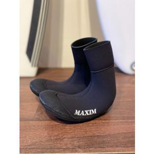 MAXIM(マキシム)3ミリソフトブーツ 内側スキンで水が入らない 真冬用 サーフィンブーツ 防寒|oceanzonesurf