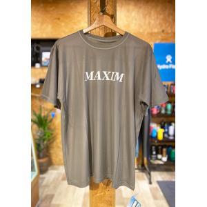 MAXIM(マキシム)COOL MAX グレーカラー メッシュTシャツ 海用 BIGサイズ クールマックス|oceanzonesurf